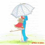 Mariage_parapluie