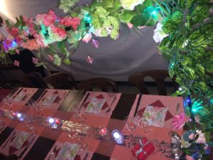 Table Pivoine & Champagne